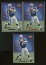 1998 Topps Stars Gold & Red #67 Peyton Manning /8799 RC Rookie Lot of 3