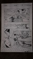 Kevin Maguire GEN 13 FANTASTIC FOUR 1 pg 24 SEXY FREEFALL (ROXY) PAGE WITH THING