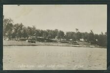 MN Wolf Lodge RPPC 1910's LAKE VIEW Cass Beltrami County No. E-162