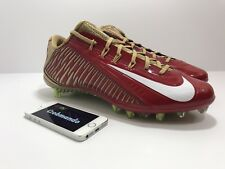 Nike Vapor Carbon Elite Men's Football Cleats 657441-628 Red Size 12 untouchable