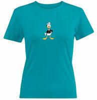 Juniors Girls Womens Tee T-Shirt Cute Donald Duck Disney DuckTales Gift Shirts