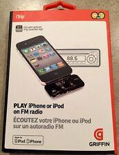 GRIFFIN iTRIP iPHONE iPOD NA22045 FM RADIO WIRELESS TRANSMITTER