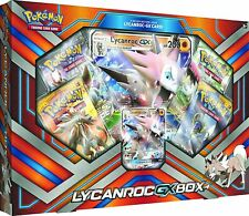 Pokemon TCG: Lycanroc-GX Box Includes 4 booster packs + 1 Foil oversized card