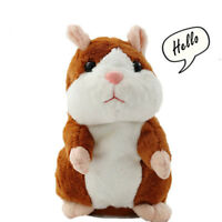 Talking Hamster Mouse Pet Plush Toy Learn To Speak Sound Electric Record Hamster