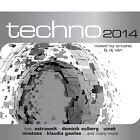 CD Techno 2014 d'Artistes divers 2CDs
