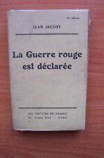 LA GUERRE ROUGE EST DECLAREE