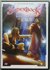 *Disc & Paper Cover ONLY* Superbook Miracles Of Jesus DVD [R2] Kids Bible Story
