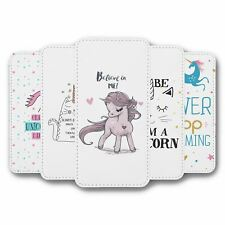 For iPhone 6 6S Flip Case Cover Unicorn Collection 4