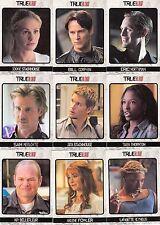 TRUE BLOOD ARCHIVES 2013 RITTENHOUSE BASE CARD SET OF 72 TV