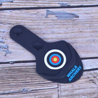 Archery Bow Limb Tip Protector Pad for Traditional Recurve Bow Longbow Black