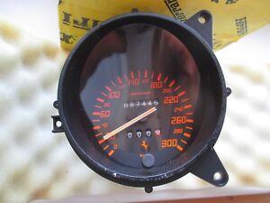 Ferrari 348 Speedometer Tacho Geschwindigkeitsanzeige 61.7777.005.0  87445 km
