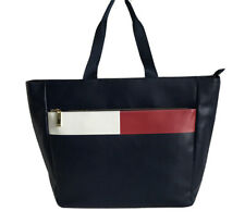 TOMMY HILFIGER Large Signature Tote Travel Bag, Blue /Red /White,  NWT $138