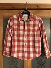 Boys Fat Face Shirt, Age 6-7 Years, Excellent Condition, Checked Pattern