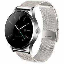 Silver K88H Smartwatch Phone Mate Camera Smart Watch For Samsung iPhone