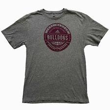 Mississippi State University Bulldogs adidas Mens T-Shirt Gray Size M Medium