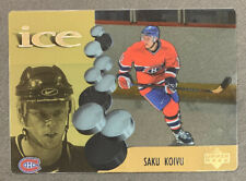 1998-99 McDonalds Upper Deck Ice - #4 Saku Koivu - Montreal Canadiens