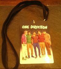 Ine Direction 1D Id Tag Up All Night Concert 2012 Must Have Collectible Teenager