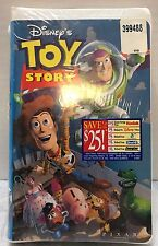 Disney Toy Story VHS Movie Clamshell in Plastic Sealed NEW