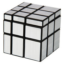 Shengshou Mirror 3x3x3 Sliver Cube Speed Twist Magic Bump Puzzle Toys Smooth Hot