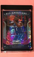 2019/20 Panini Prizm Draft Picks ZION WILLIAMSON All-Americans Pink Pulsar MINT