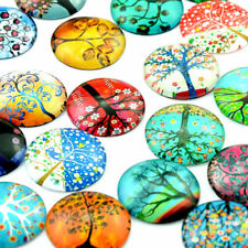 12mm Round Mixed Mosaic Supplies Crafted Handcrafted Tiles for Jewelry Making