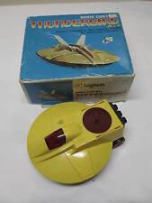 Vintage LOGITECH THUNDERBIRD X-2 Sonic Control Spaceship Alien UFO Toy REPAIRS