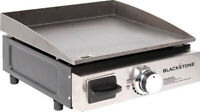 Blackstone Table Top Grill 17 Portable Gas Griddle Propane Steel Outdoor Camping