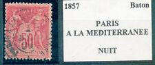 BELLE OBLITERATION TIMBRE FRANCE CACHET FERROVIAIRE AMBULANT TYPE SAGE N° 98