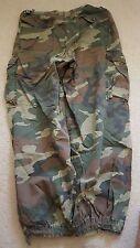 Izzue Camouflage Cargo Pants Sz M