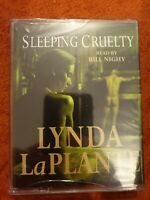NEW LYNDA LA PLANTE - SLEEPING CRUELTY - AUDIO BOOKS - TALKING BOOKS 2 CASSETTES