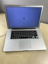 "MacBook Pro 15-Inch ""Core i7"" 2.3 Early 2011 - For Parts Or Repair NO BATTERY"