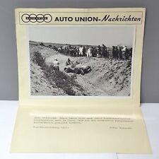 ✇ DKW AUTO UNION 1938 dynamische Rallyeaufnahme Mittelgebirgsfahrt #2