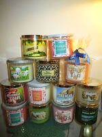 Bath & Body Works 3 Wick Candle - Pick Your Choice-  New Scents