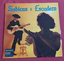 SABICAS Y ESCUDERO LP ORIG FR 60'S LA PURETE DU FLAMENCO