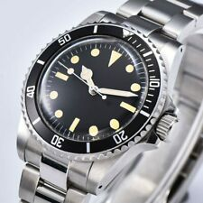 Diver Dive Watch 40mm Swiss homage Automatic Submariner Sea Dweller 1960 Vintage
