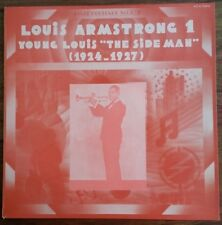 """Vinyl - Louis Armstrong - Young Louis """"The side Man"""" (1924-1927) Jazz Héritage"""
