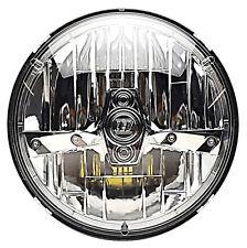 """7"""" Motorcycle Chrome HID High Power LED Light Bulb Headlamp Headlight For Harley"""