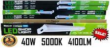 (1) 4Ft 40W 5000k 41000LM LED GARAGE WORK BENCH SHOP LAUNDRY BASEMENT SHED LIGHT