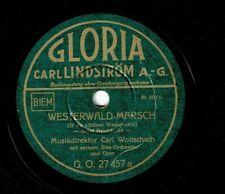Blasorchester Carl Woitschach : Westerwald-Marsch / Niedersachsen-Marsch (+Ges.)