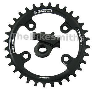 BLACKSPIRE Snaggle 76mm x 26-32t Narrow Wide 1x 11 Bike Chain Ring fit Sram XX1