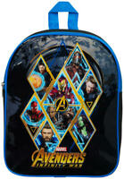 Marvel Avengers Backpack Iron-man Hulk Captain America Kids Children School Bag