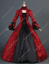 Victorian Georgian Ball Gown Dress Steampunk Vampire Halloween Costume 138 Xxl
