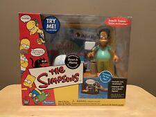 The Simpsons World of Springfield Bowl A Rama Playset Playmates Pin Pal Apu Nib