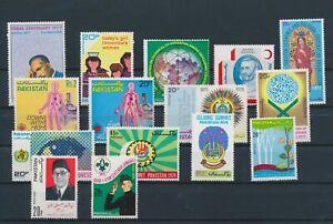 LN71462 Pakistan mixed thematics nice lot of good stamps MNH