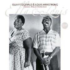 "ELLA FITZGERALD & LOUIS ARMSTRONG ""CLASSIC ALBUM COLLECTION""3 LP VINYL NEW++"