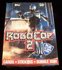 1990 Topps Robocop 2 Trading Card Box 36 Packs