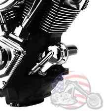 Hard Drive Chrome Oil Filter Housing Kit Harley Evo Big Twin Engine Dyna Softail