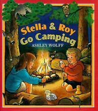 Stella and Roy Go Camping-ExLibrary