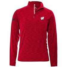 Levelwear Ncaa Mobility Insignia Strong Quarter Zip Mens - Wisconsin Badgers