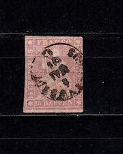 """Schweiz   15 II A, geprüft  """" Franz"""" gestempelt, gut erhalten, siehe Bild"""
